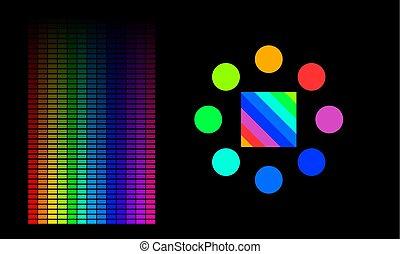 색, 성분, 분석