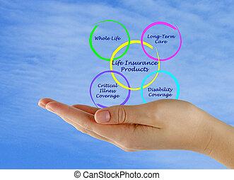 생명 보험, 제품