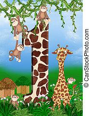 생일, 동물, 정글, 처음