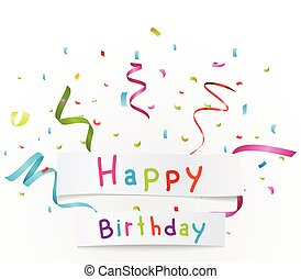생일, 배경, 축하