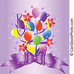 생일, 배경, 활