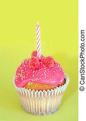 생일, 처음, 컵케이크