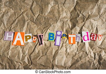 생일 축하합니다, 메시지