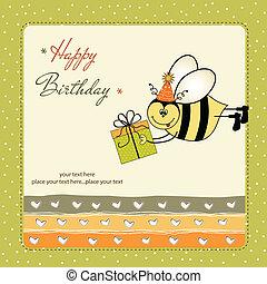 생일 카드, 꿀벌
