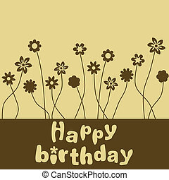 생일 카드, 행복하다
