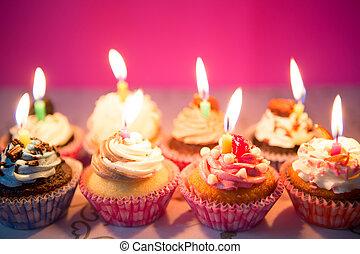 생일, 컵케이크