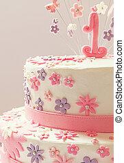 생일 케이크, 처음