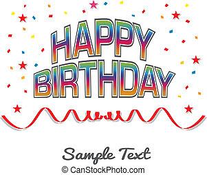 생일, 행복하다