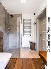 샤워, 유행, 욕실, 현대