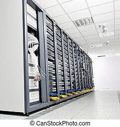 서버 방, 네트워크