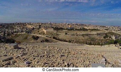 서쪽, 예루살렘, 비행