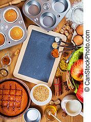 성분, 빵 굽기, 가정