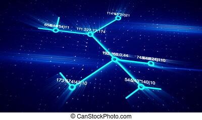 성장하는, 컴퓨터 네트워크, 개념, 생기