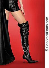 성적 매력이 있는, 다리, 와..., 구멍 내는 바늘, 시동