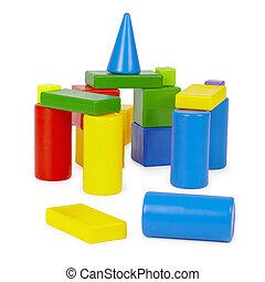 성, 의, 색, 장난감 벽돌