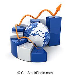 세계적인 비즈니스, graph.