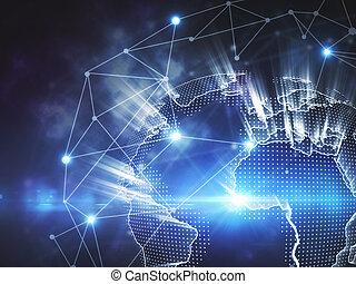 세계, 개념, 사업