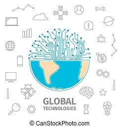세계, 기술, 개념