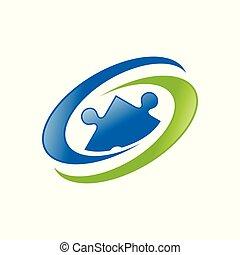 세계, 인간, 자원, 청록색, 상징, 로고, 디자인