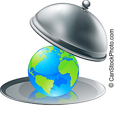 세계, 접시