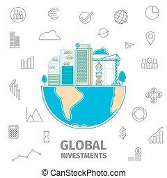 세계, 투자, 개념