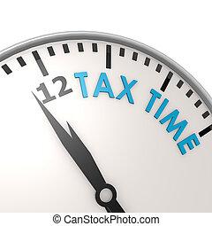 세금, 시간 기록 시계