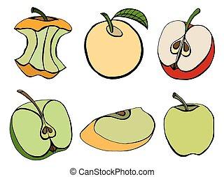 세트, 사과