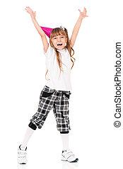 소녀, 생일, 모자