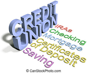 소비자 신용 조합, 재정, 사업, 서비스