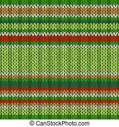 소수 민족의 사람, 스타일, seamless, 뜨개질을 하는