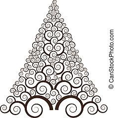 소용돌이, 나무 2