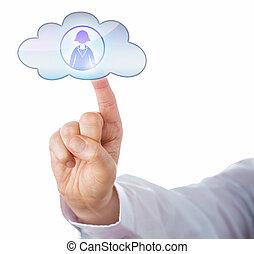 손가락, 이어진다, 와, 여류 실업가, 에서, 그만큼, 구름