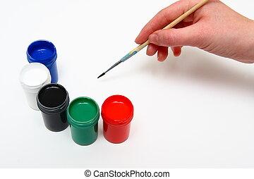 손, 그림