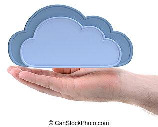 손 보유, 구름