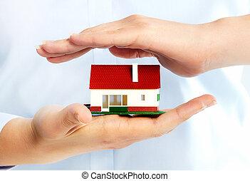 손, 와, 거의, house.