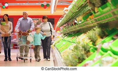 쇼핑, 가족