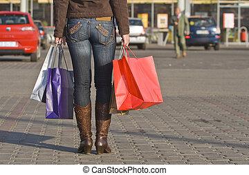 쇼핑, bags...and, legs..:)