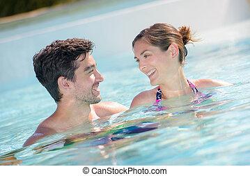 수영, 에서, 그만큼, 웅덩이