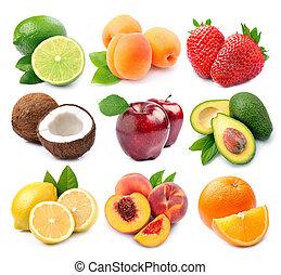 수집, 과일