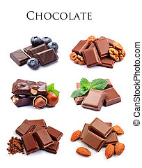 수집, chocolate.