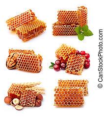수집, honeycomb.