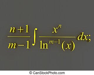 수학상의, formulas.