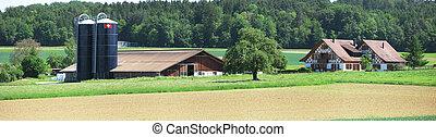 스위스어, 농장