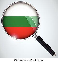 스파이, usa 정부, 나라, 프로그램, nsa, 불가리아