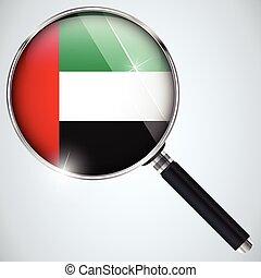 스파이, usa 정부, nsa, 프로그램, emirates, 나라