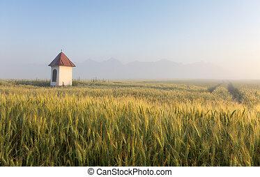 슬로바키아 공화국, 시골, 와, 채플