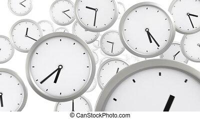 시간, 배경