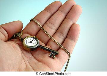 시간, 은 이다, 그만큼, 열쇠