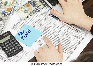 시간, 치고는, 세금, 돈, 재정, 회계, 과세, 개념
