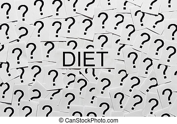 시작, 통하고 있는, a, diet?